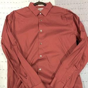 Men's Express 1MX extra slim fit dress shirt